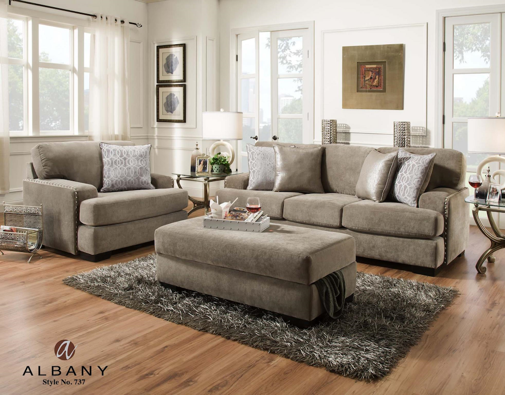 LOVE SEAT/CHAIR/STORAGE OTTOMAN