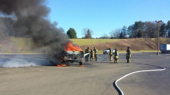 Pickup Fire 121615